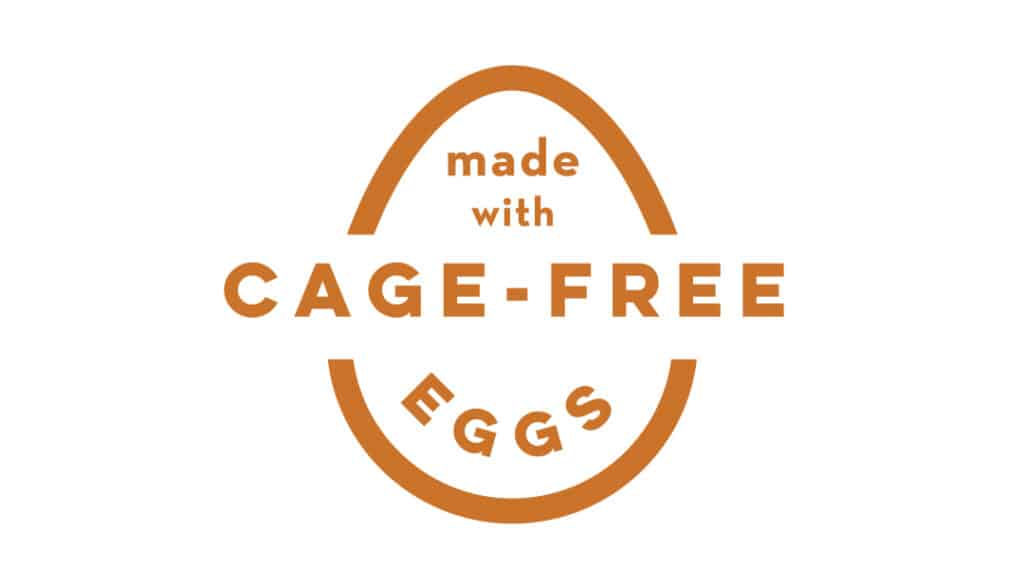 Made with Cage-Free Eggs