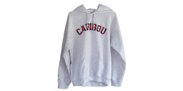 Caribou Ash Color Sweatshirt