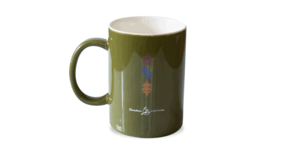 MN Ceramic Mug Olive Green Back