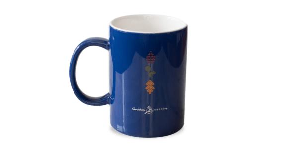 MN Ceramic Mug Royal Blue Back