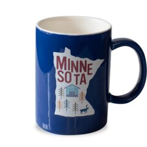 MN Ceramic Mug Royal Blue Front