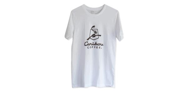 Caribou t-shirt white