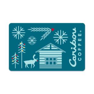 Gift Card Winter Scene