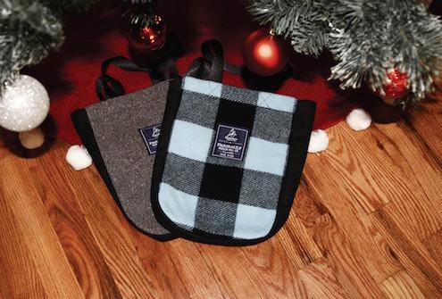 Two Fairbault Woolen Mills bags