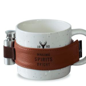 Speckled Mug with Flask