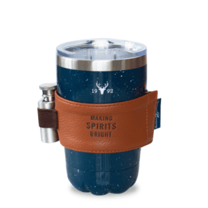 Speckled Stainless Blue Flask