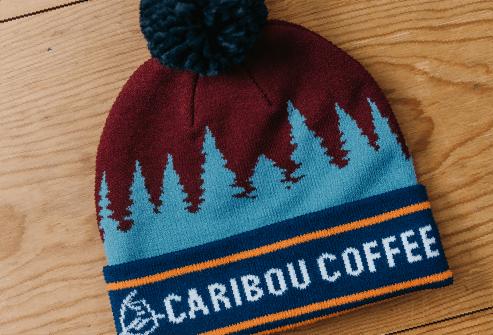 Caribou Coffee Hat